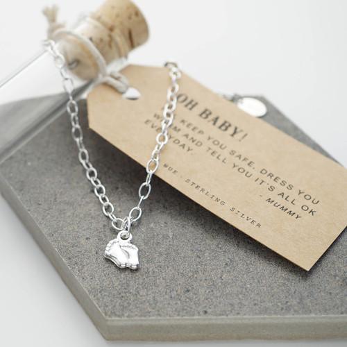 Little Feet Silver Bracelet