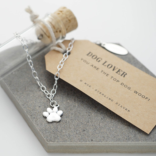Paw Silver Bracelet