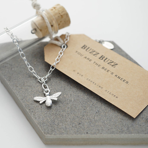 Bee Silver Bracelet