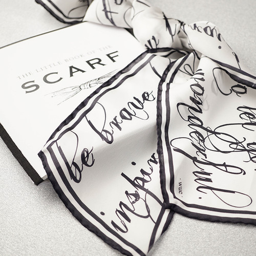 Silk Scarf - Be Brave