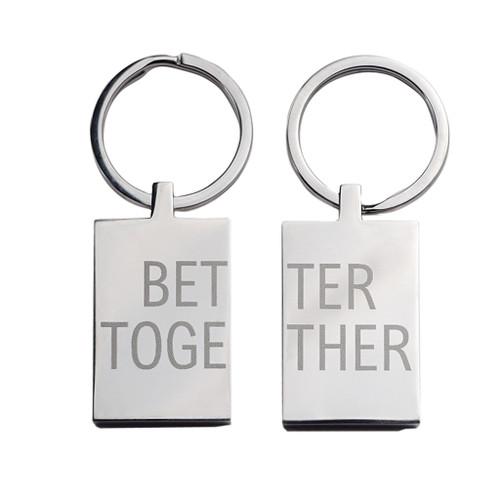 Better Together Keyring Set