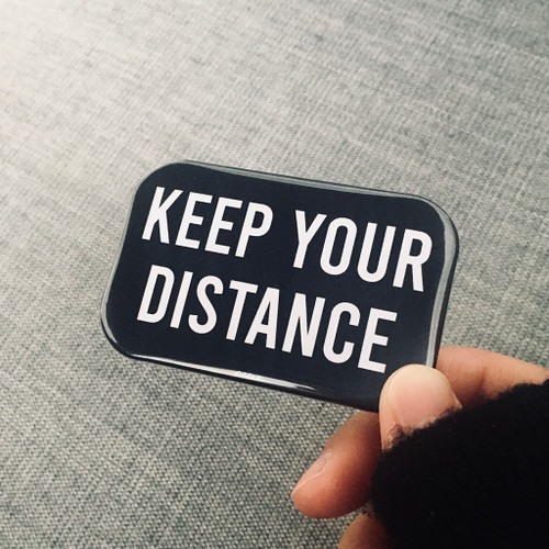 Keep Your Distance Badge