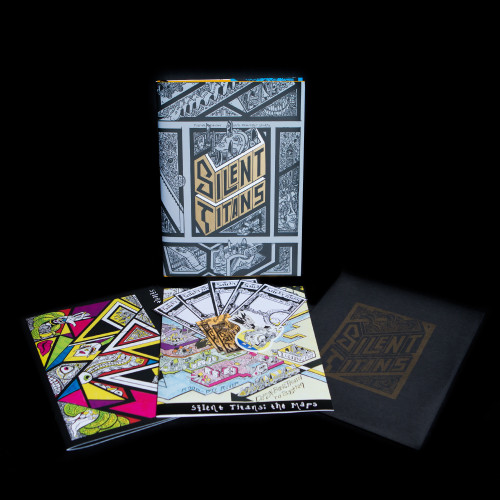 Note: This item ONLY contains the bonus bundle. The Silent Titans book is sold separately!