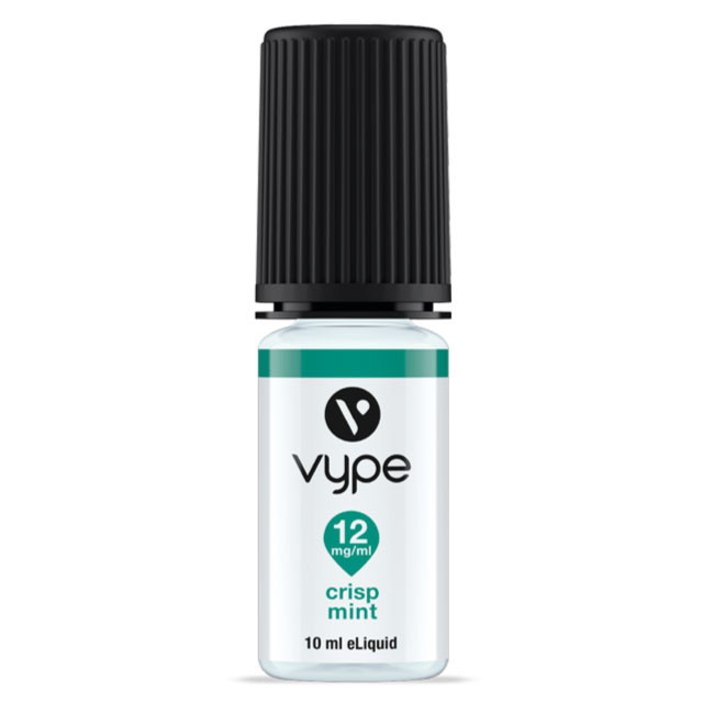 Vype Crisp Mint e juice. 10ml bottle