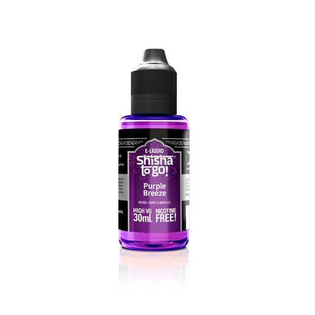 Short Fill Shisha e liquid UK. Grape and Mint of all things!