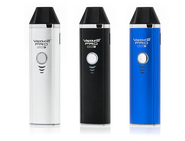 Our best  dry herb, wax concentrates and e liquid vaporizer in silver black blue
