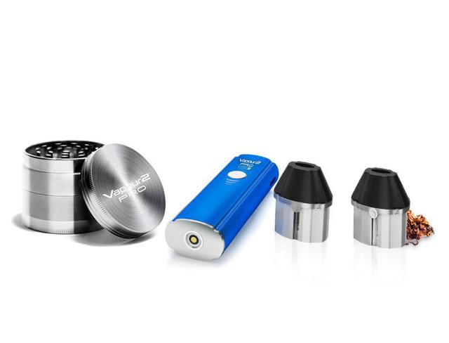 PRO 7 herb vape pen kit + dry herb tobacco grinder. Heat Not Burn