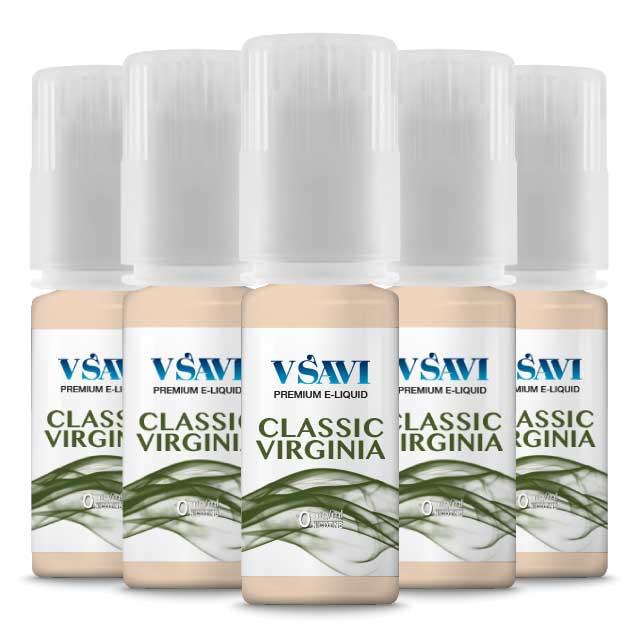 VSAVI 100% VG organic e juice  classic virginia 50ml