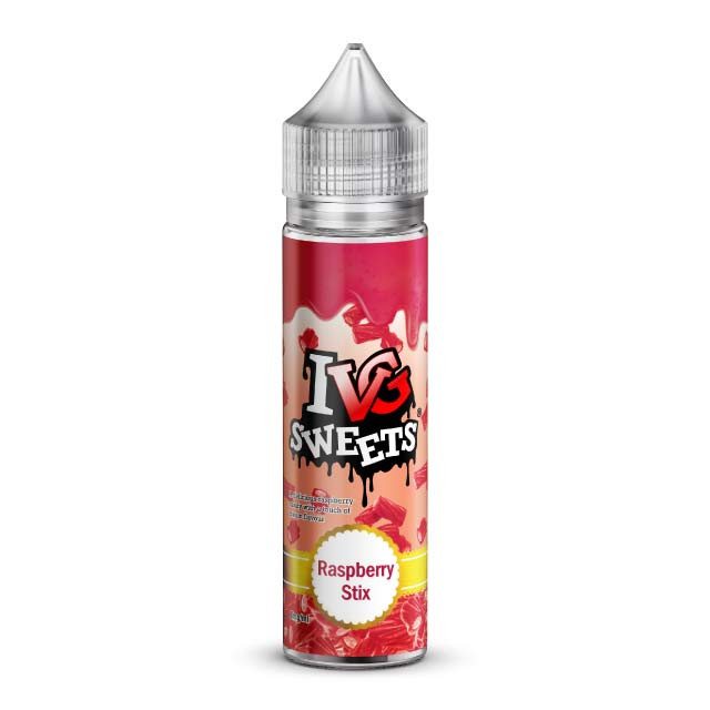 IVG Raspberry Stix E-Liquid Shortfill 50ml