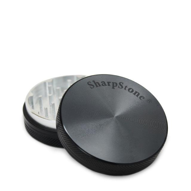 SharpStone 2 Piece Dry Herb Grinder Black