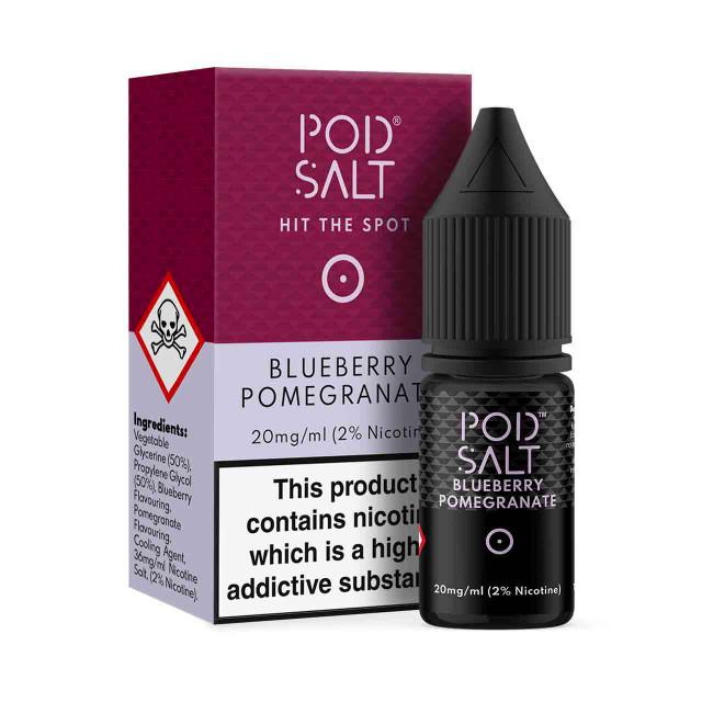 Pod Salt Blueberry Pomegranate Nicotine Salt E-Liquid