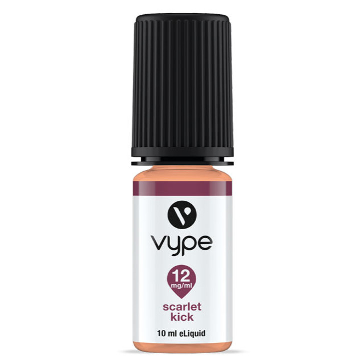 Vype E liquid: From the Vype Cool Collection. Scarlet Kick