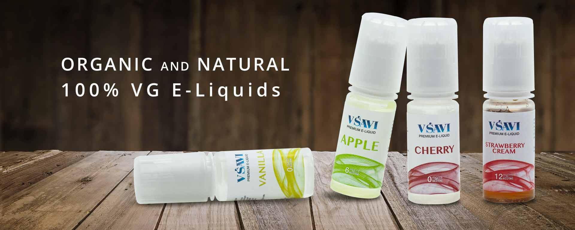 VSAVI 100% VG E-Liquids