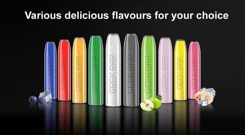 geek bar flavours