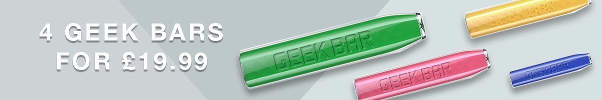 Geekvape Geekbar disposables