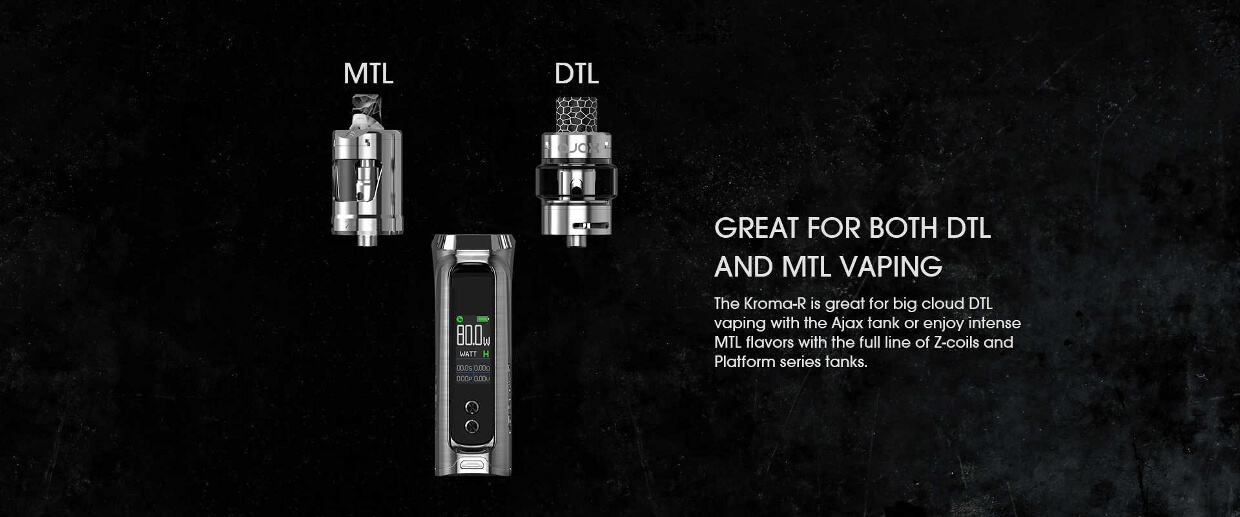 Innokin Kroma-R MTL and DTL features