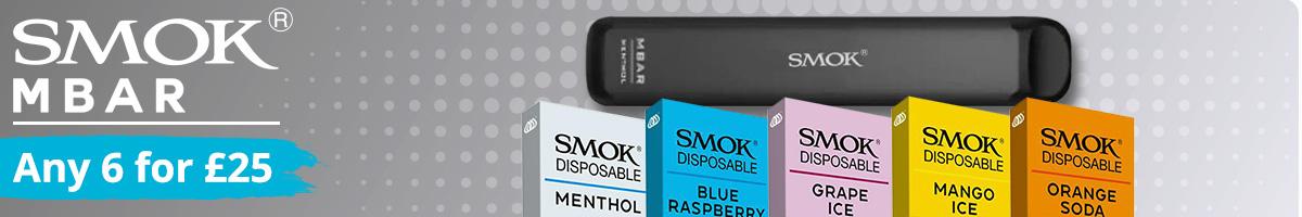 Smok MBar Disposable vapes