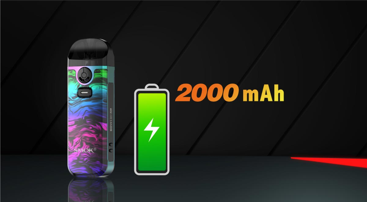smok nord4 2000mah battery