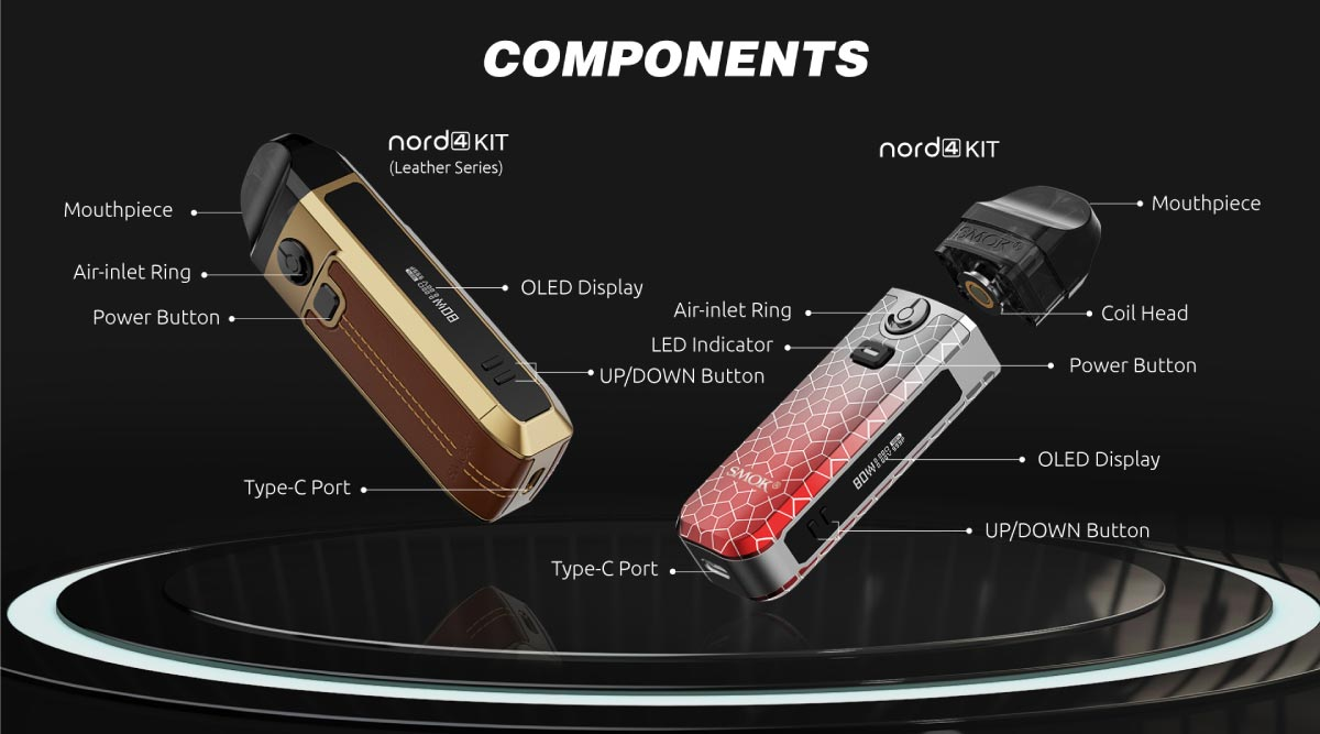 smok nord4 components