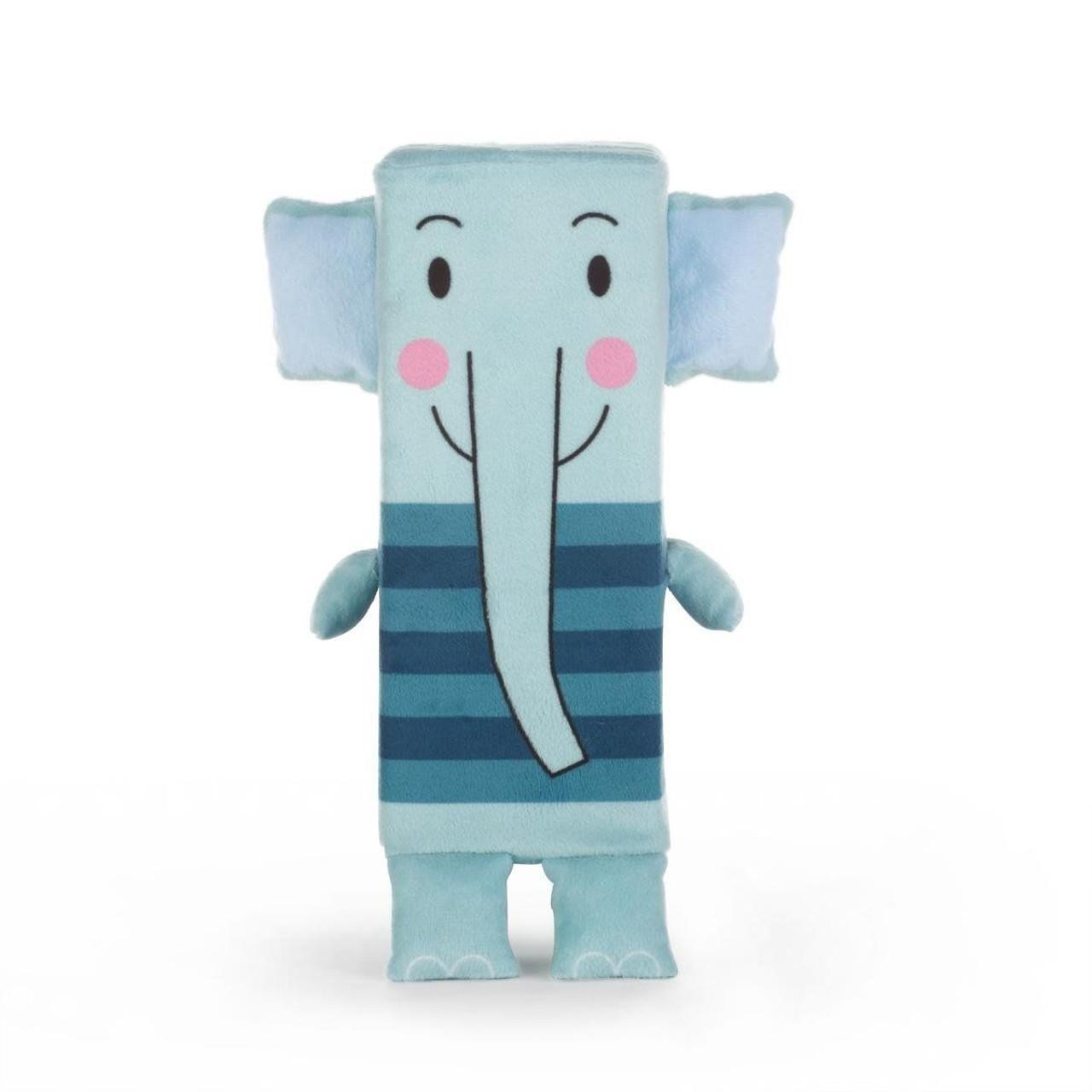 Nat Jules Tucker Stuffed Animal Plush Elephant Blue
