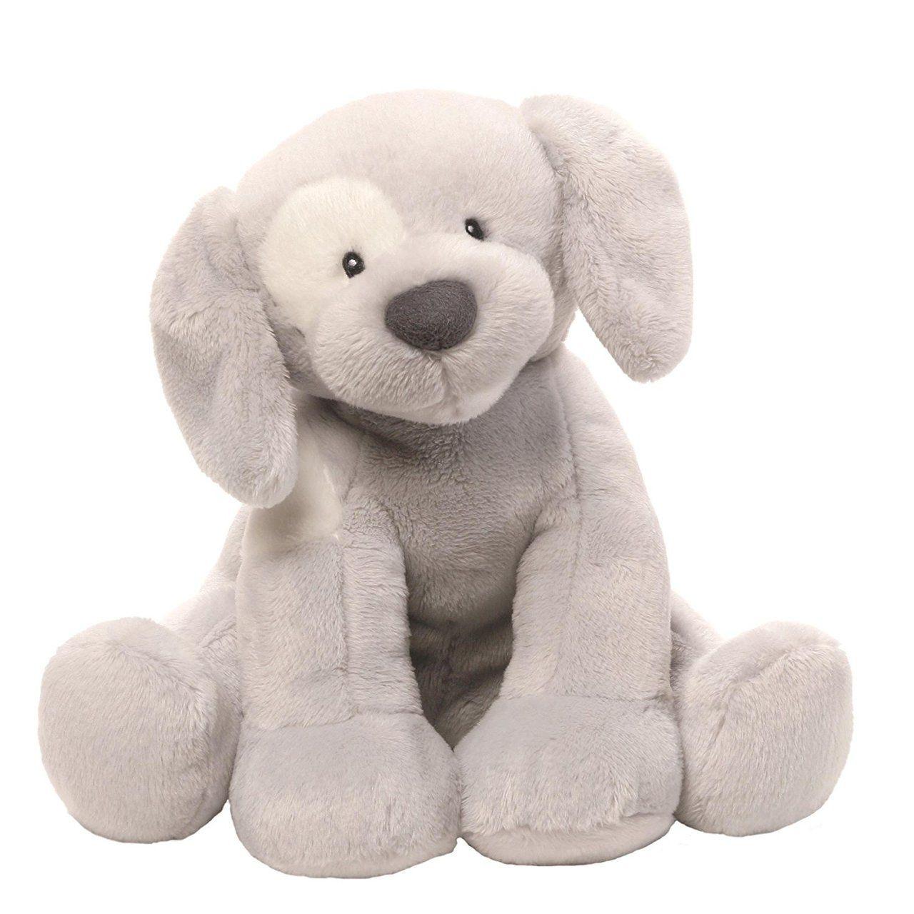 Baby GUND Spunky Dog Stuffed Animal Plush Sound Toy 47d7dc3c1