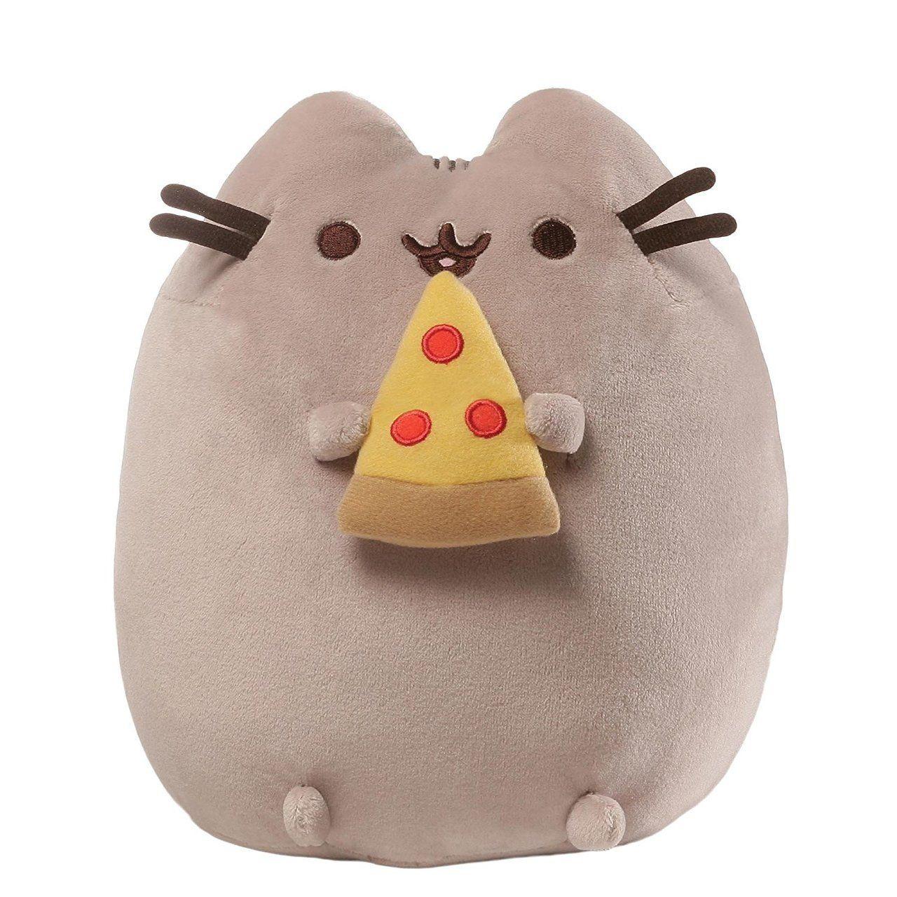 938a837ea26 GUND Pusheen Stuffed Animal Plush Cat with Pizza