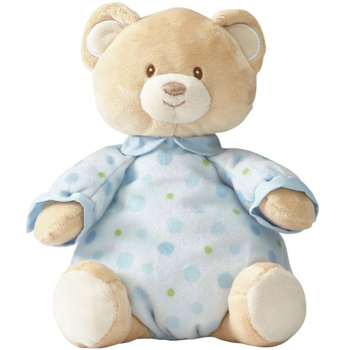Beginnings by Enesco Baby Boy Plush Pajama Bear, Blue, 10 inches