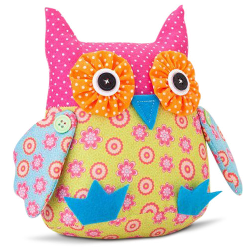 Kabloom Plush Owl, 8 inches