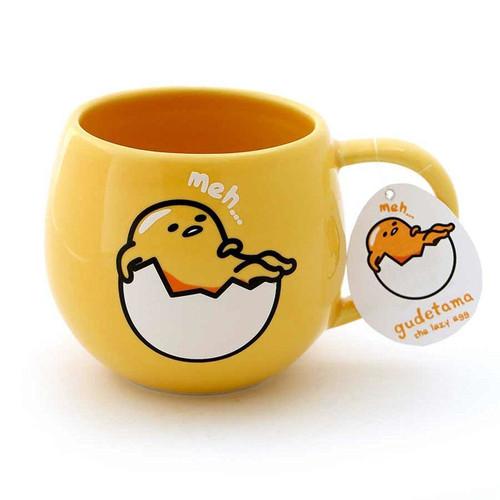 Our Name Is Mud Gudetama Lazy Egg Coffee Mug, 16 ounces, Yellow