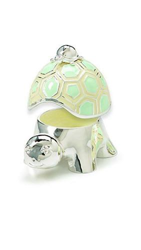 Demdaco Tender Love Baby Turtle Keepsake Box