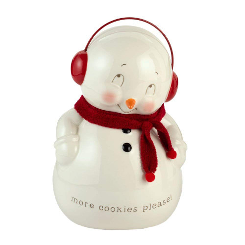 Department 56 Snowpinions Snowman Cookie Jar