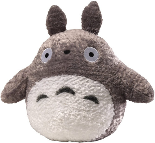 "GUND®  Fluffy Totoro Stuffed Animal Plush in Gray, 13"""