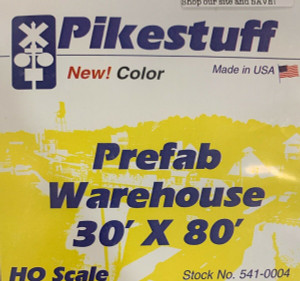 PIKESTUFF 4 HO Pre-Fab Warehouse kit