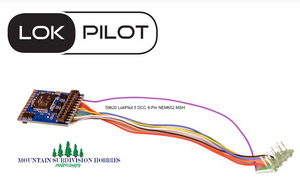 ESU 59620 LokPilot 5 DCC mobile decoder 8-pin NEM652