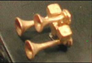 CAL-SCALE 640 HO Nathan P3 P3U Air Horn (Brass) 1/pkg