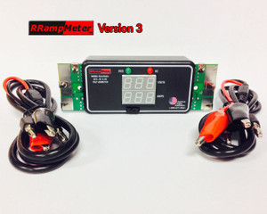 DCC Specialties RRampmeter V3 Version 3 (Battery Backup)