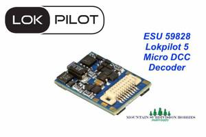 ESU 59828 LokPilot 5 MICRO DCC Mobile Decoder Next18 interface