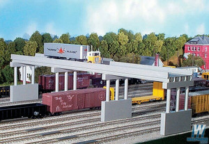 RIX 113 HO 150' Modern Style Highway Bridge & 4 piers