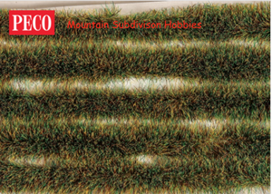 PECO Scene PSG-34 6mm Grass Tuft Strips - Spring - Self Adhesive