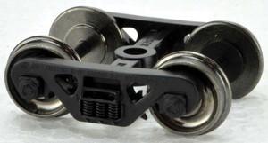 Bowser Trains 40193 HO 100 Ton Roller Bearing Truck - metal wheels - 1 pair