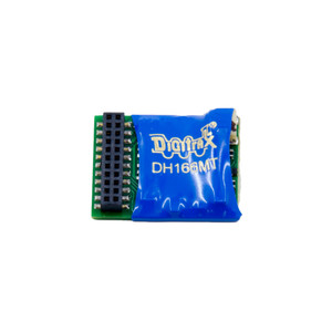DIGITRAX DH166MT Mobile Decoder with 21MTC interface