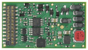 TCS 1525 Train Control Systems WOW121 STEAM Sound Decoder V4 - 21 Pin