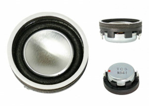 TCS 1694 WOWSpeaker 28mm High Bass 4 Watt Round Speaker