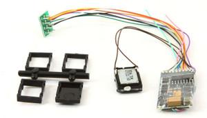 ESU 58410 LokSound 5 DCC/MM/SX/M4 NEM652 8 Pin Sound Decoder & 11x15mm Speaker