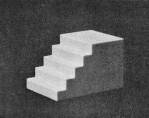 Pikestuff 1010 HO Concrete Staircase 3pk