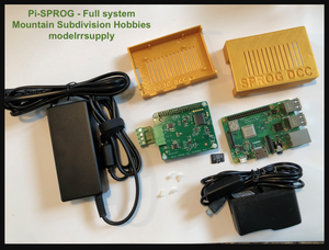 SPROG Pi-Sprog Full Package DCC System Raspberry Pi with case