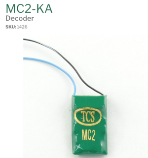 TCS 1426 MC2-KA pre-wired for Keep Alive