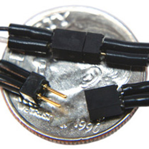 TCS 1519 2 pin Mini Connector (Red & Black wires)