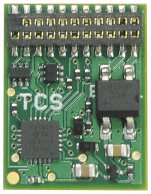 TCS 1674 EU821 - 21 Pin - 8 Function - DCC Decoder - 21MTC
