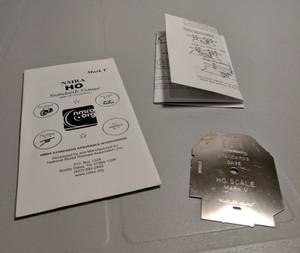NMRA HO Standards Gauge Mark V - NEWEST VERSION in NMRA packaging